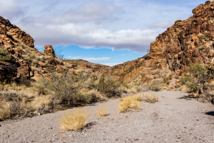 Sloan Canyon National Conservation Area