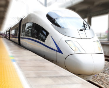 China's 373 MPH Bullet Train is World's Fastest Land Vehicle