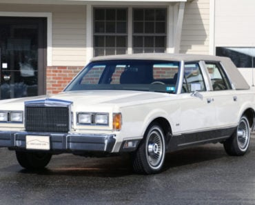 Remembering The 1989 Lincoln Town Car