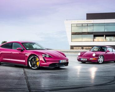 A Closer Look at the 2022 Porsche Taycan EV