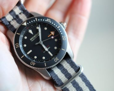 A Closer Look at The Bremont Supermarine S302 GMT Diver
