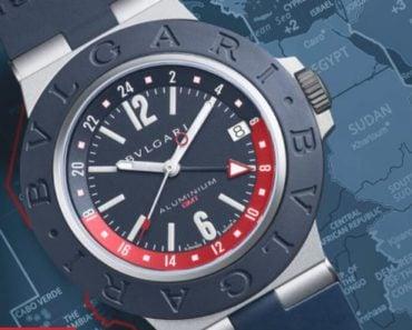 A Closer Look at Bulgari's New Aluminum GMT Watch