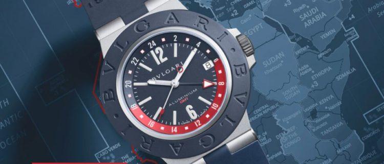 Bulgari Aluminum GMT