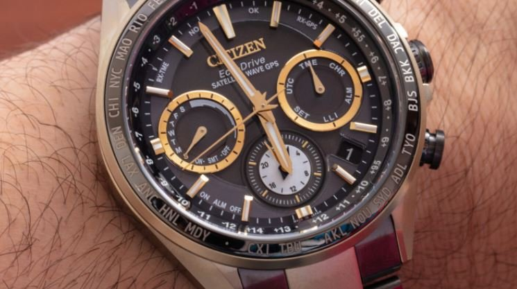 Citizen's Super Titanium Hakuto-R Watches