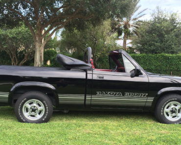 How to Get Your Hands on a Dodge Dakota Convertible