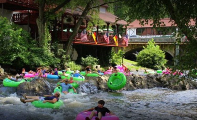 Helen Tubing and Waterpark