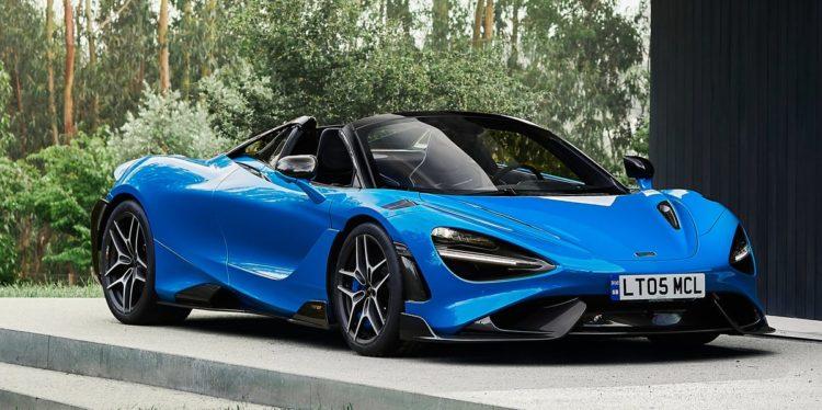 McLaren's New 765LT Spider Convertible