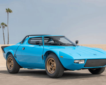 A Closer Look at This Awesome 1975 Lancia Stratos