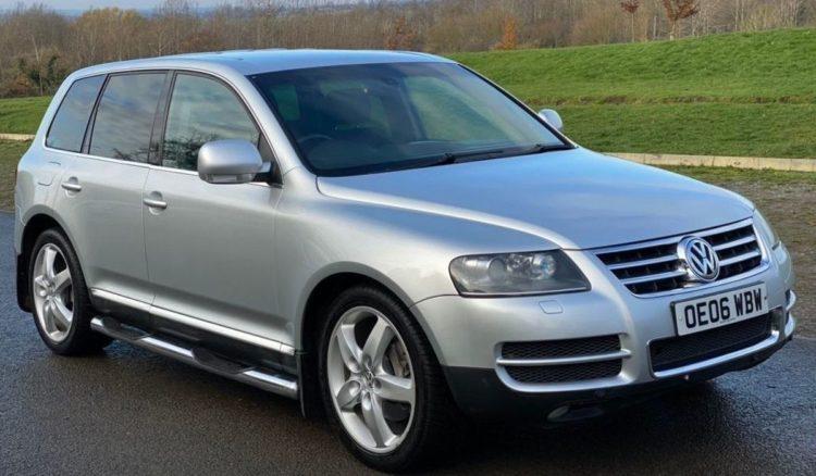 The Volkswagen Touareg V10 TDI