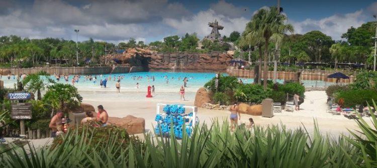 Disney's Typhoon Lagoon Water Park - Orlando, Florida
