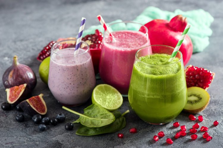 Try a smoothie at Chia Juice Bar