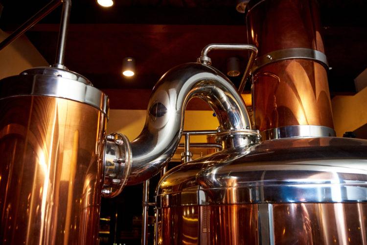 Grab a Beer at Salmon River Brewery