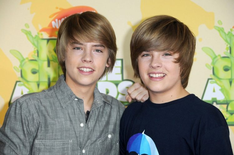 Dylan Sprouse and Cole