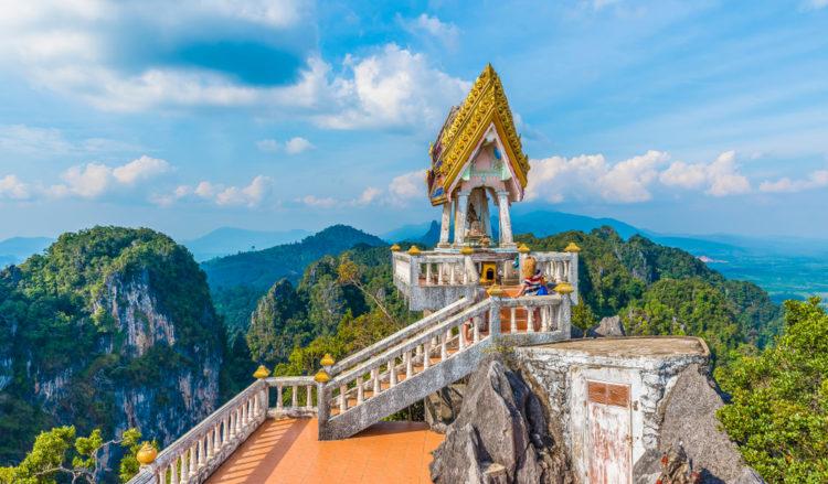 Climb the Tiger Cave Temple