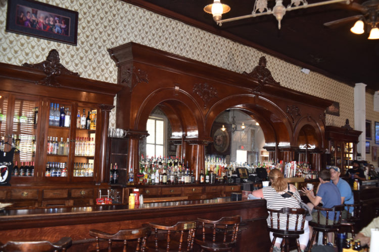 Dine at Crystal Palace Saloon and Restaurant