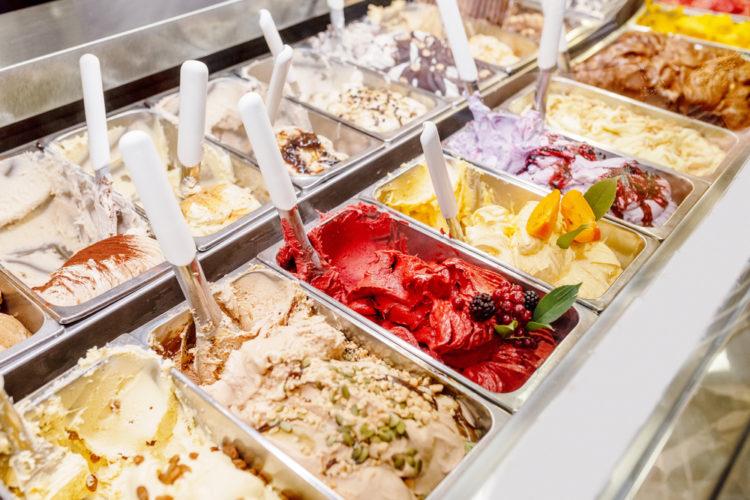 gelato at Il Gelato di Pinocchio