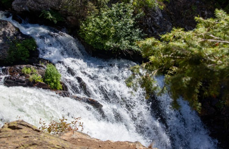 Hike to Goose Creek Falls