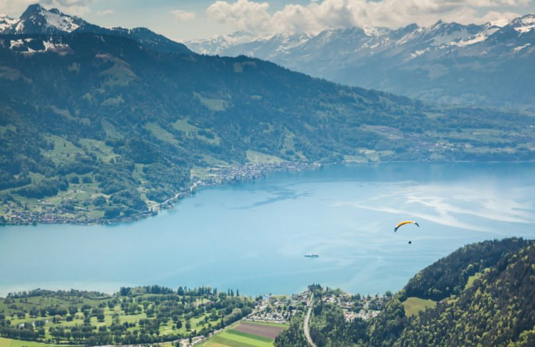 Skydive Over Interlaken