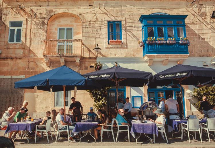 Sample some wine at Valletta's premier wine bar