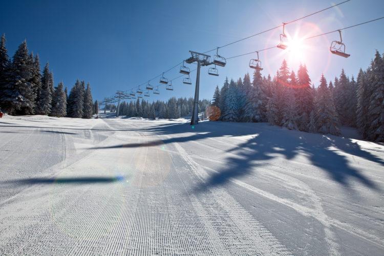 Tackle the slopes at the Sunrise Ski Resort