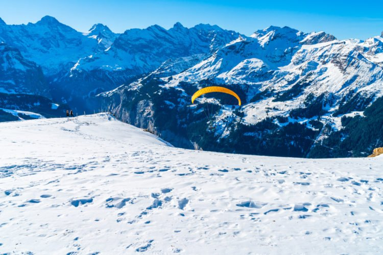 Test your nerves with the Eiger Jump