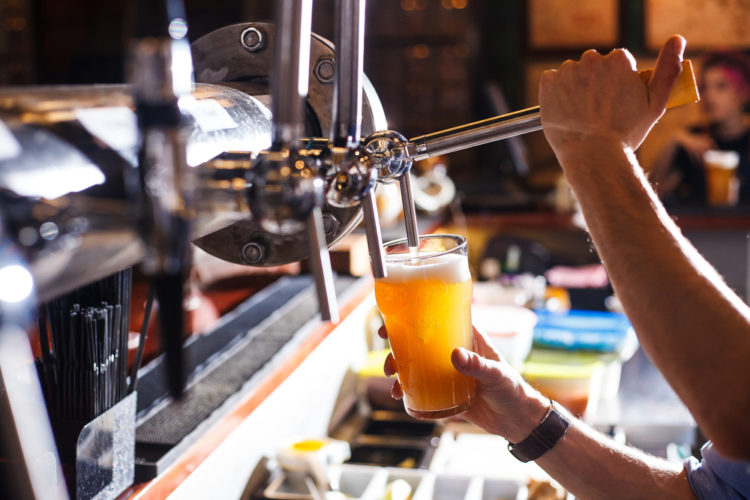 Grab a beer at the Black Horse Brewery