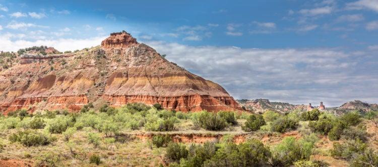 Texas mountain range