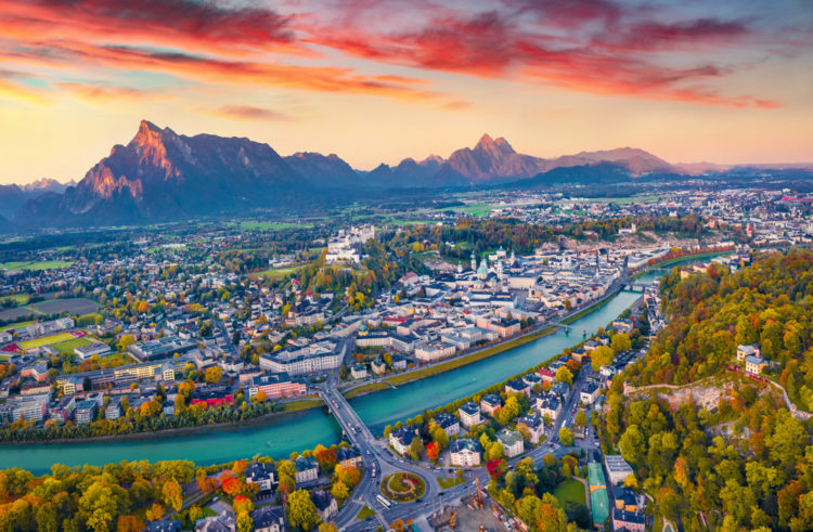 Take an Aerial Tour Of The Alps