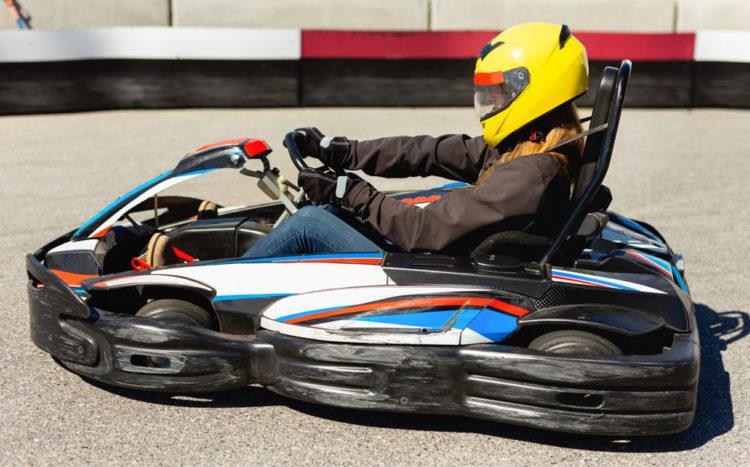 Enjoy the go-karts at White Mountain Family Fun Park