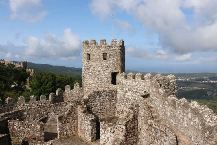 Check out the artifacts at the Castelo dos Mouros