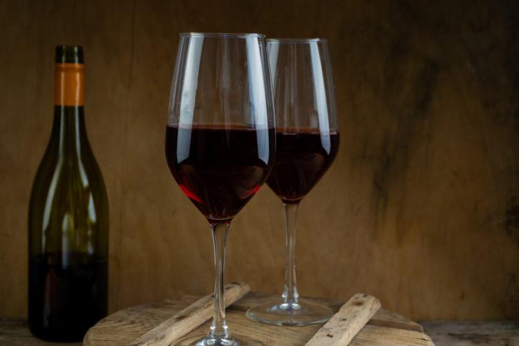 Sample Wine at Silver Strike Winery