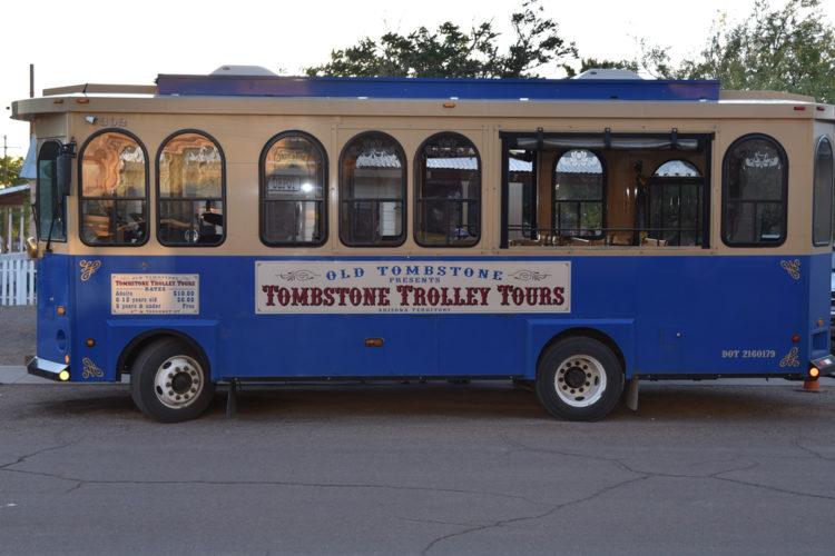 Take the Tombstone Trolley Tour