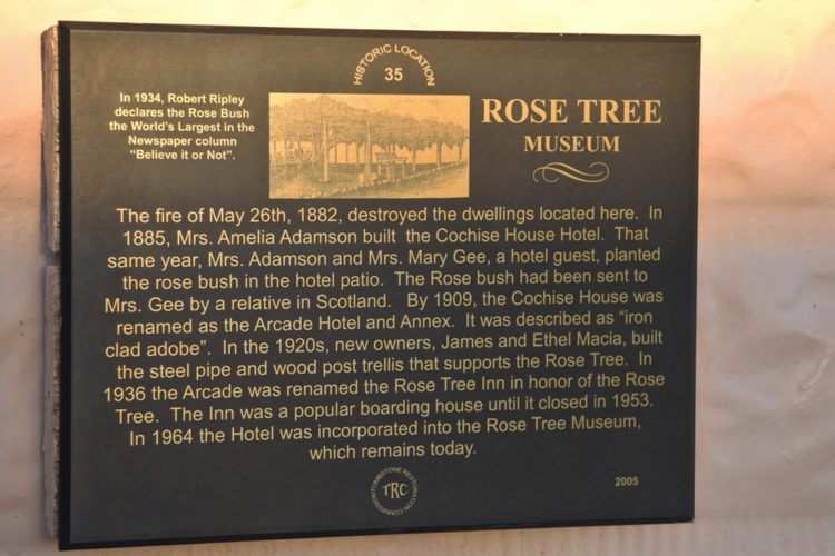 Rose Tree Museum and Bookstore