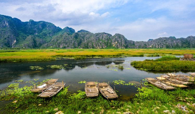 Explore Van Long Nature Reserve