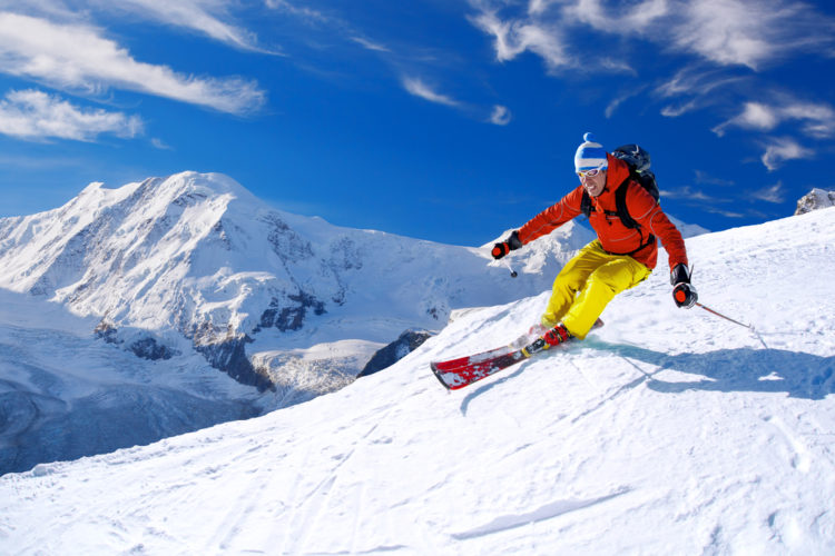 Ski the slopes