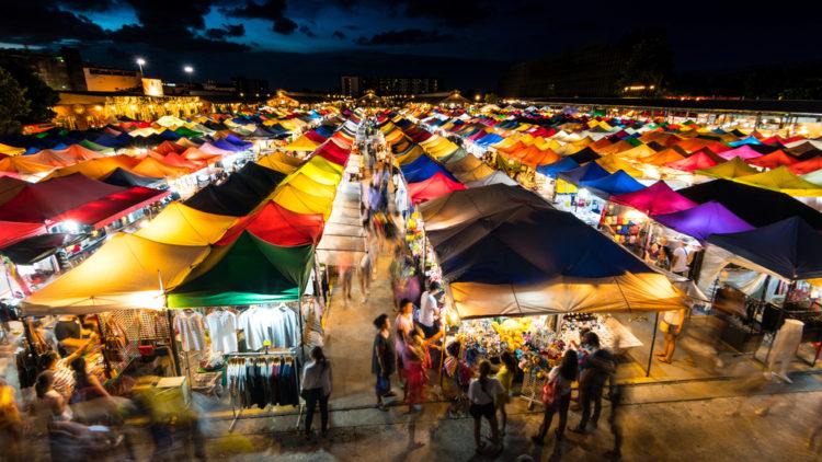 Shop the night market