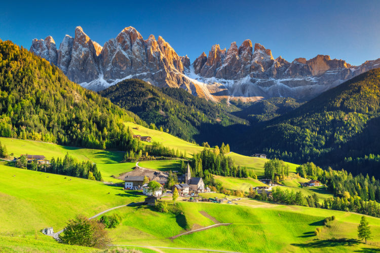 Take a walk or drive on Monte Maddalena