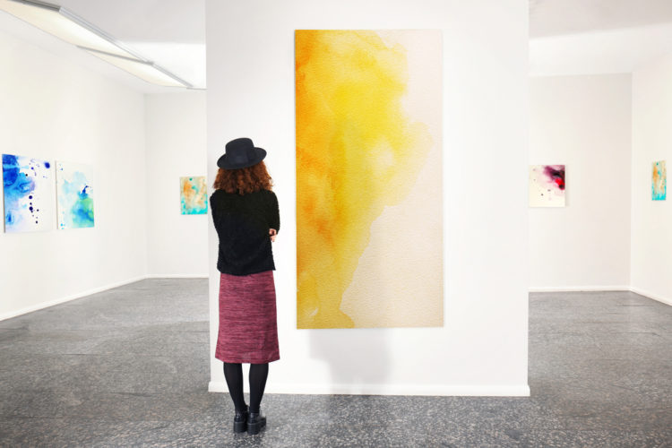 Admire the art at AAWM Center for the Arts