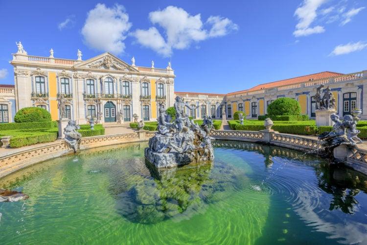 Take a day trip to Palácio Nacional e Jardins de Queluz
