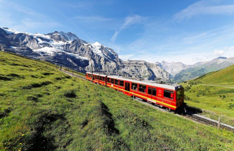 Take a train trip
