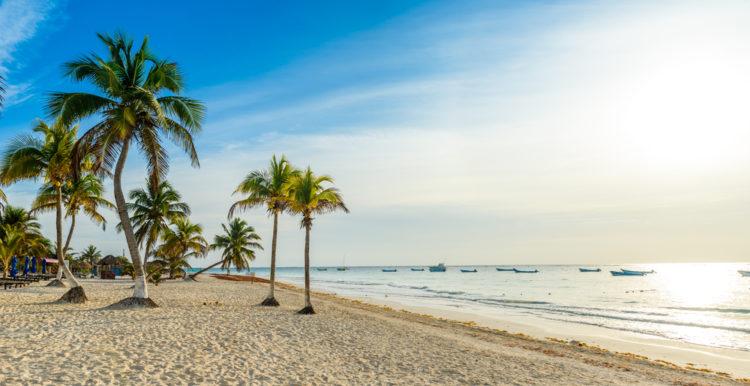 Hit the beach at Progreso