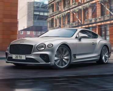 A Closer Look at The 2022 Bentley Continental GT Speed