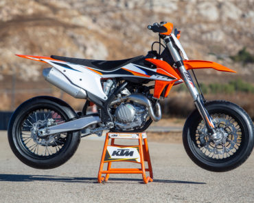 A Closer Look at The 2022 KTM 450 SMR Supermoto