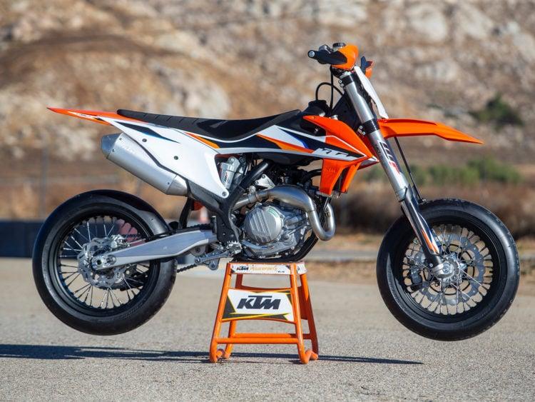 2022 KTM 450 SMR Supermoto