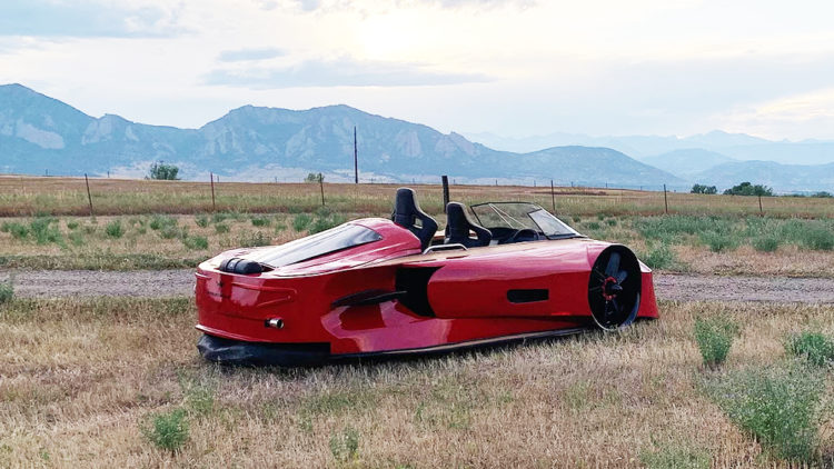 """""""Arosa"""" - The Supercar of Hovercrafts"""