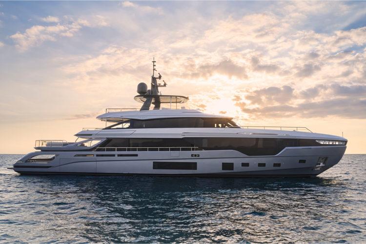Azimut's Largest Yacht Grande Trideck