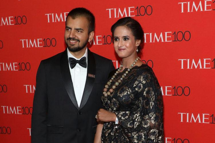 Bhavish Aggarwal and wife