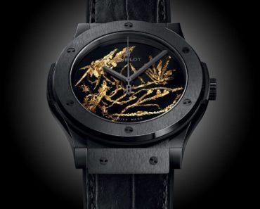 A Closer Look at Hublot's Big Bang Gold Crystal Watch
