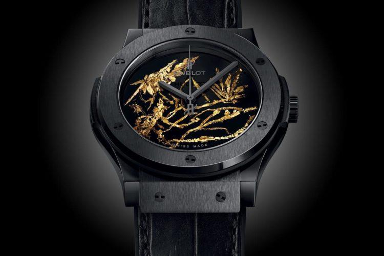 Hublot's Big Bang Gold Crystal Watch