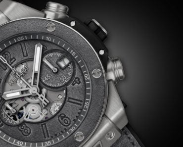 A Closer Look at Hublot's Big Bang Unico Berluti Aluminio Watch